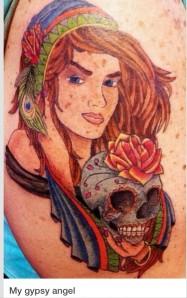 gypsy word tattoo loliloooo youtube
