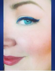 indigo makeup loverly