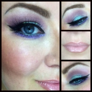 loverly sparkly makeup