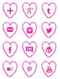 social media pink