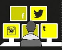 social media yellow
